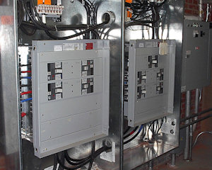 High Voltage Electrical Panel Installation